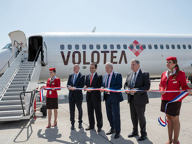 Volotea relie marseille minorque et mykonos air journal for Low cost marseille