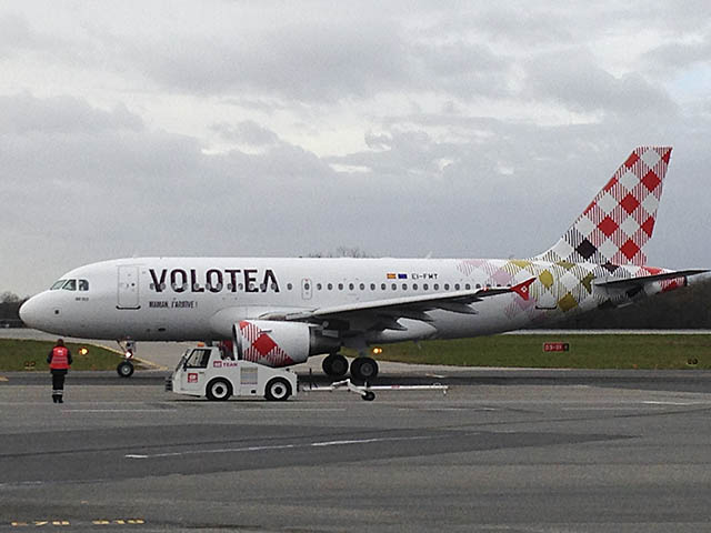 Volotea accueille son premier airbus a319 air journal - Billet avion nantes toulouse ...
