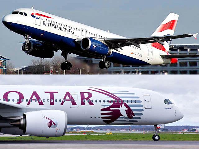 air-journal_british airways qatar airways