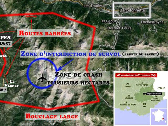 air-journal_crash Germanwings 4U9525 zone@Gendarmerie Nationale
