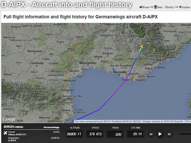 air-journal_crash Germanwings A320 4U9525