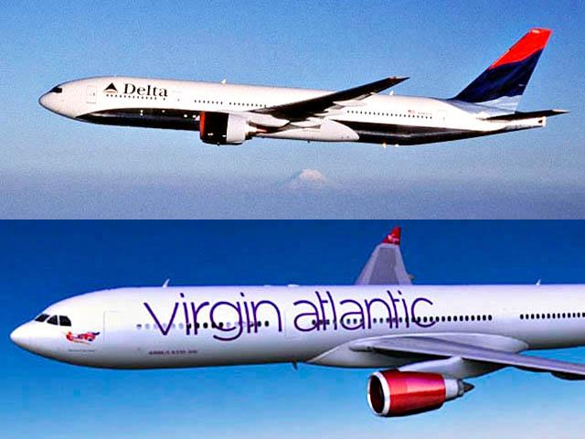 Traqueur de vol Virgin Airlines