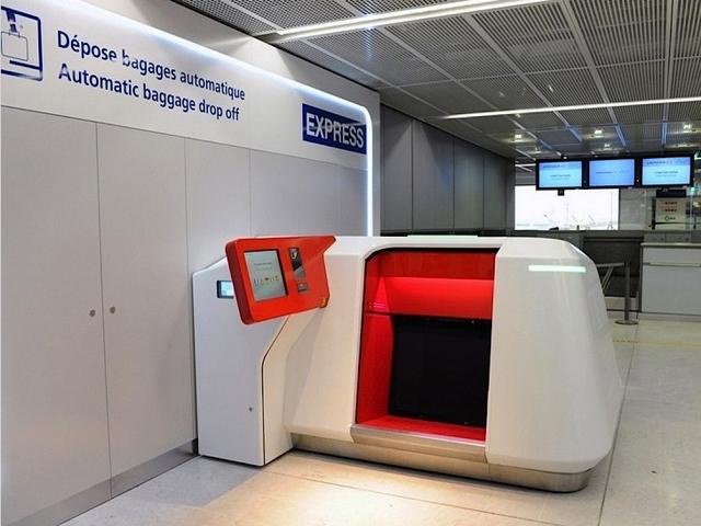 De nouveaux d pose bagages automatiques test s orly ouest air journal - Comptoir air france orly telephone ...