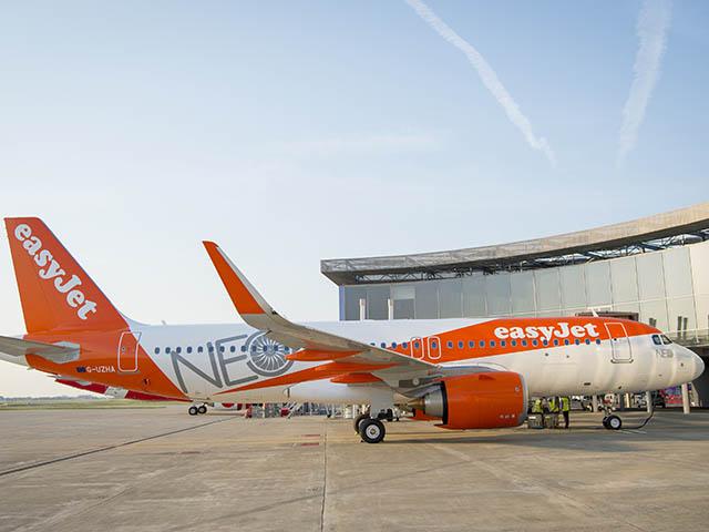 Easyjet ouvre 19 routes berlin tegel dont une vers for Interieur avion easyjet
