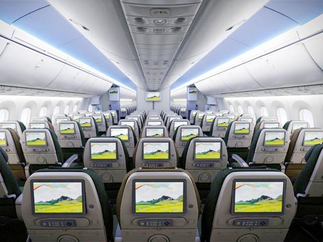 Ethiopian Airlines D 233 Ploiera Le Dreamliner Vers Washington