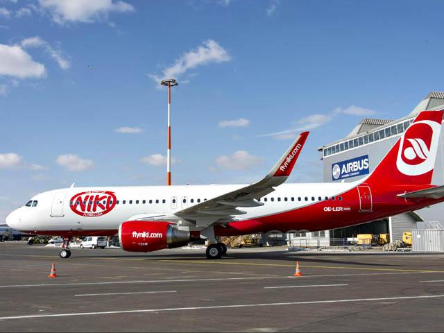 Niki Airline (Niki). Sayt.2 officiel