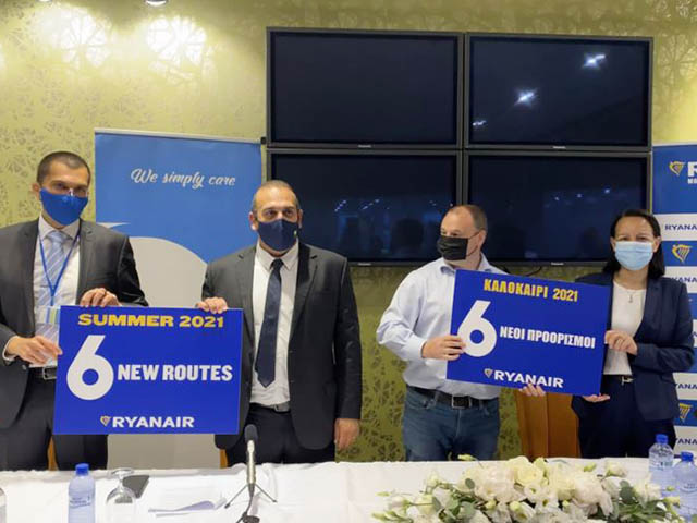 Ryanair: Μασσαλία - Κύπρος και συμβουλευτικό συμβούλιο 1 Air Journal
